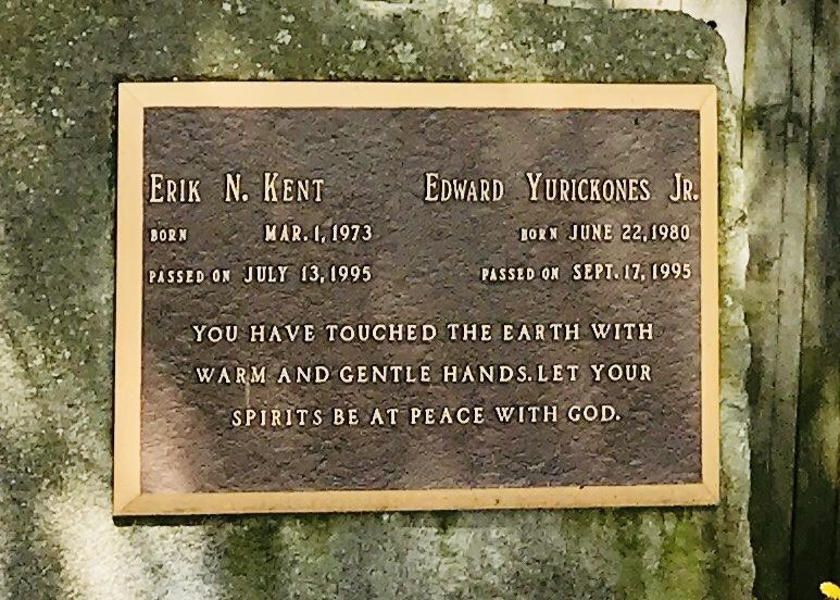 Eddie Jr's memorial at HKA