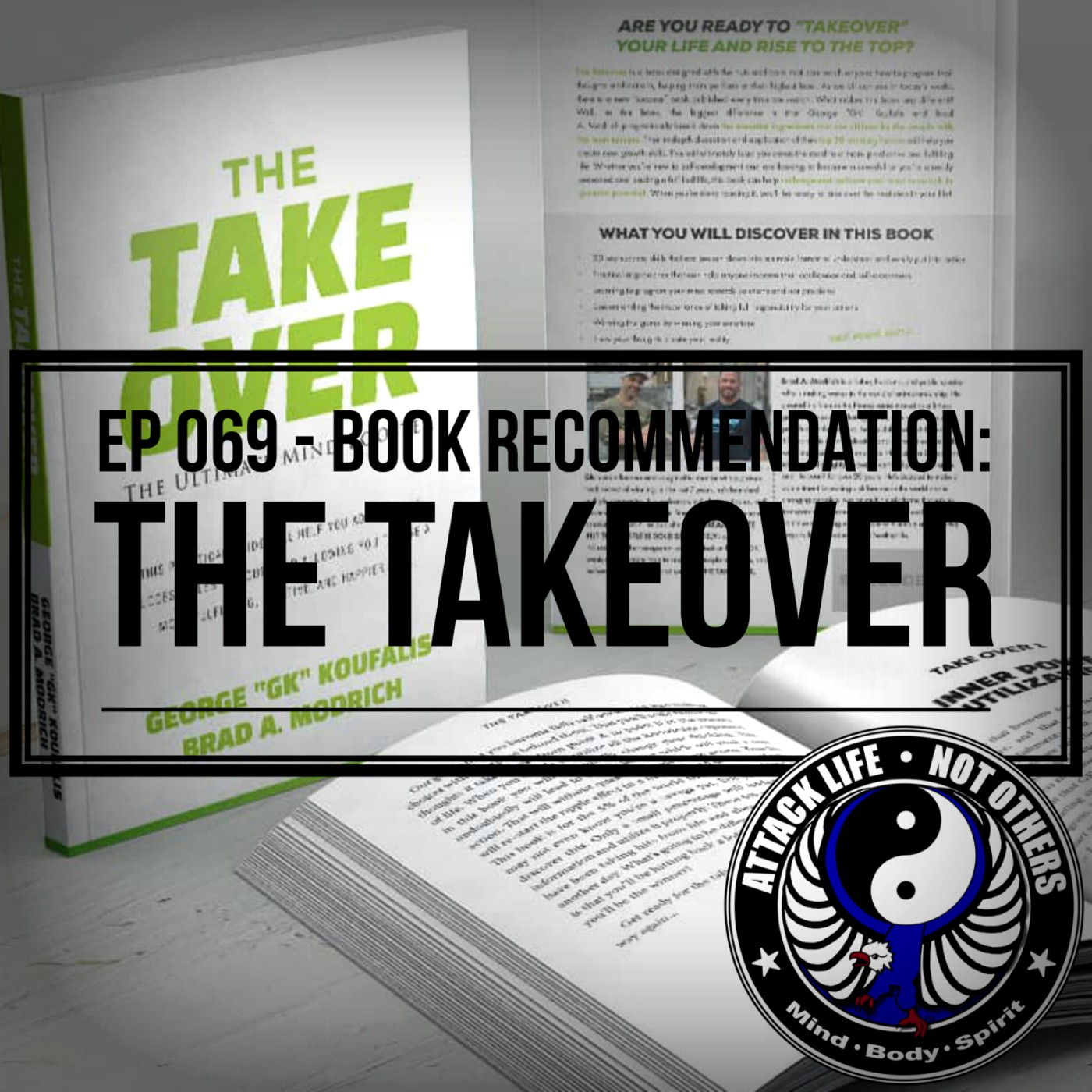 Ep 068 - Book Recommendation: The Takeover