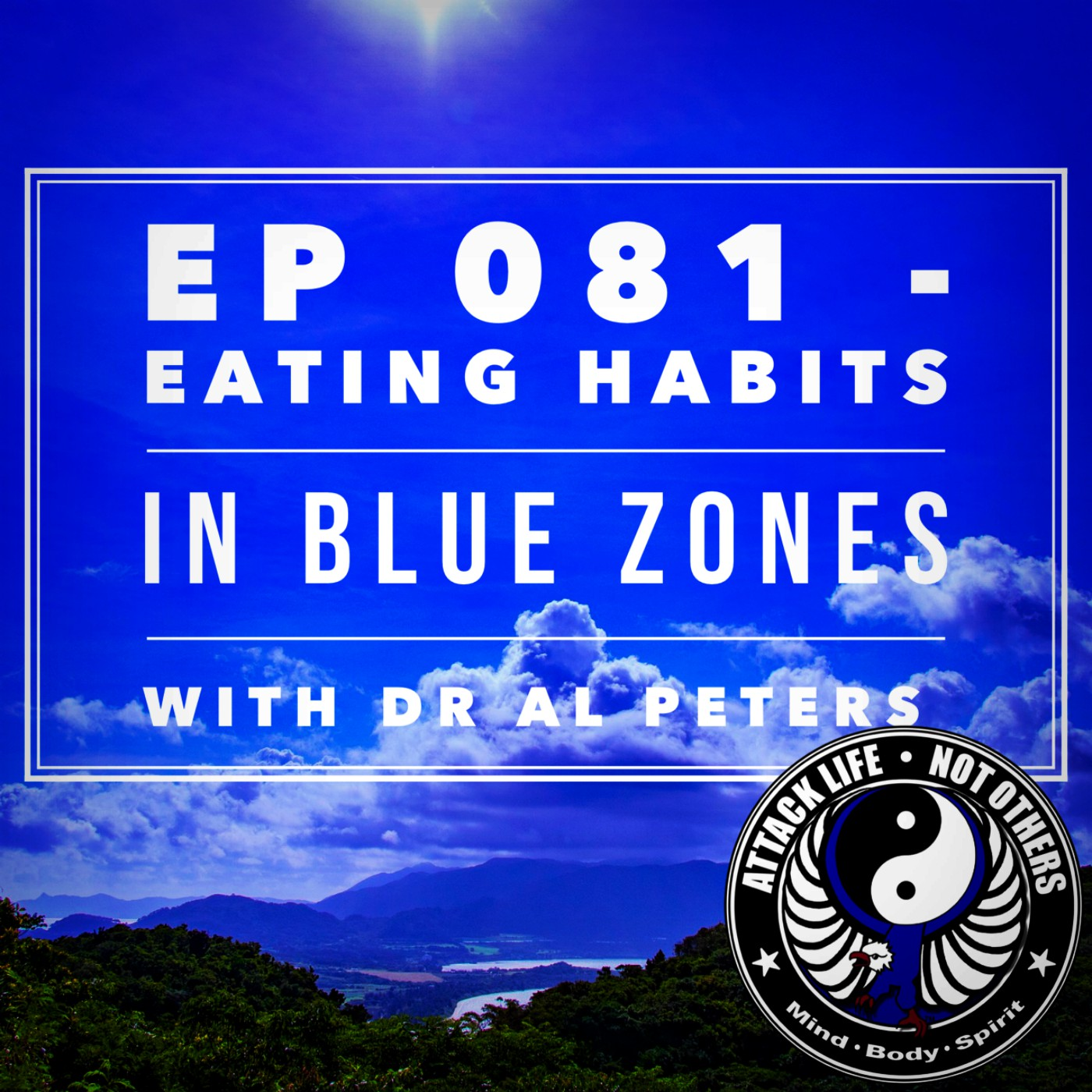 Ep 081 - Eating Habits in Blue Zones with Dr Al Peters