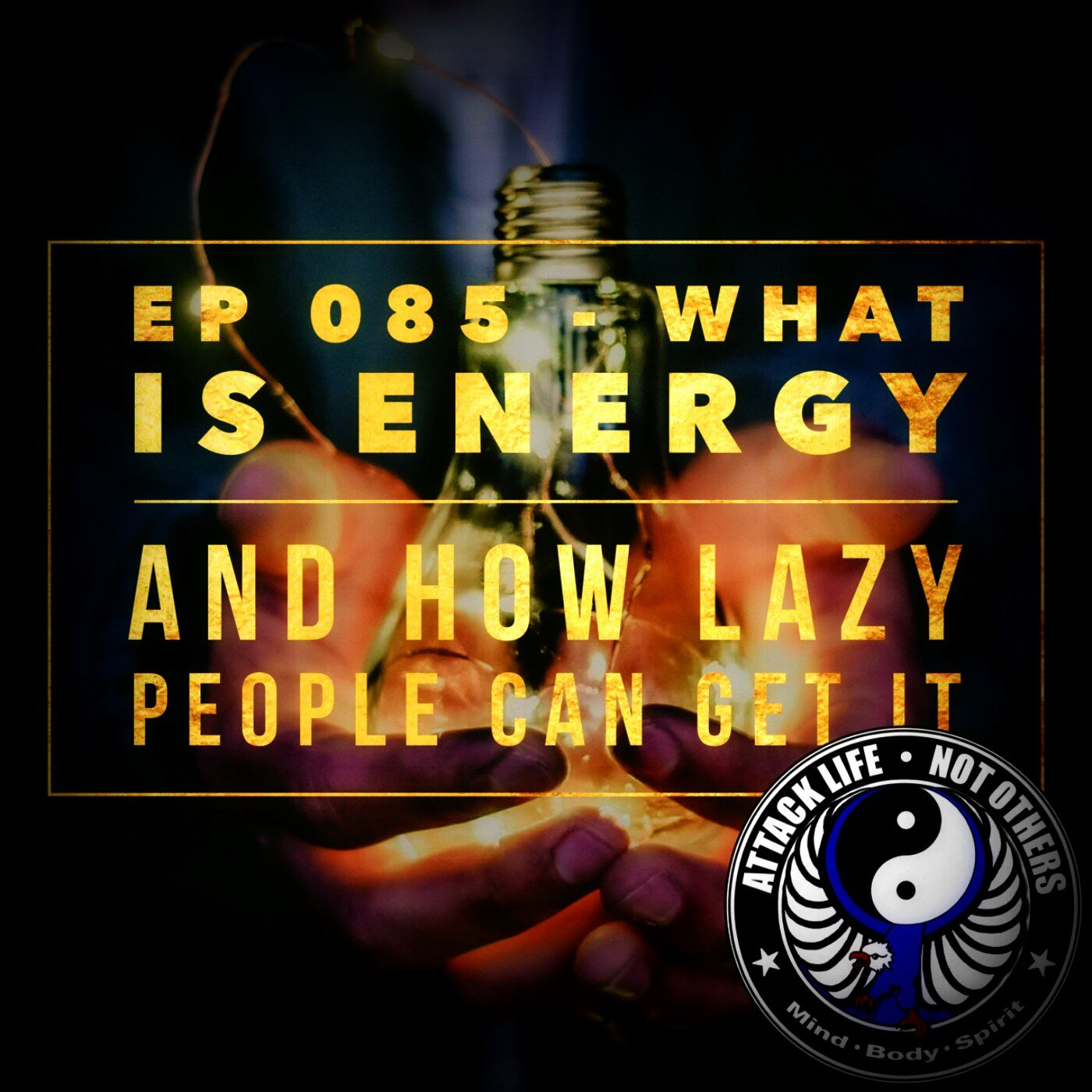 Ep 085 - What is Energy and How Lazy People Can Get It