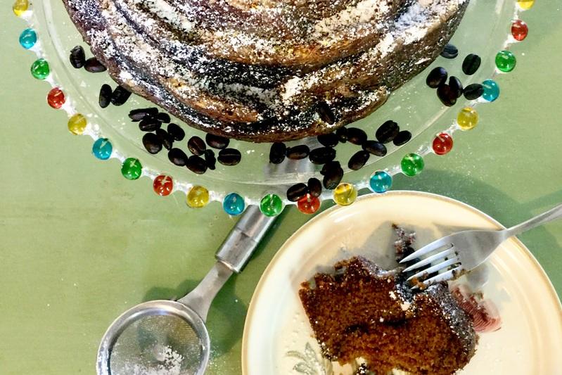 Pumpkin Espresso Bundt Cake -