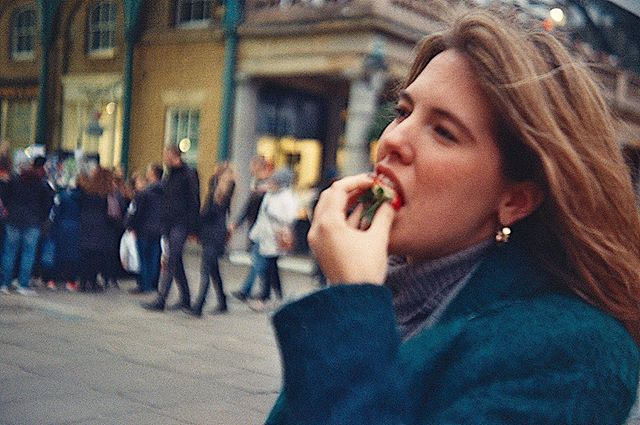 she's sweet enough 🍓#35mm