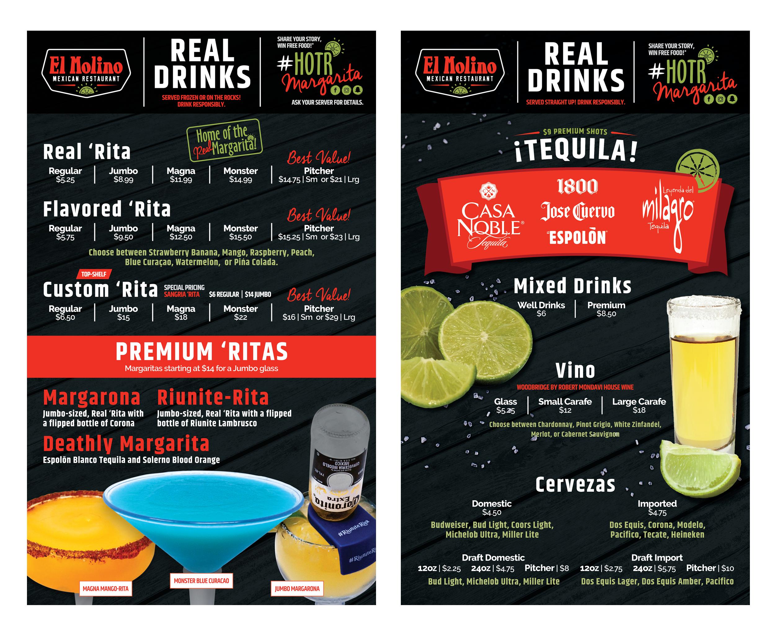 El-Molilno_Drink-Menu-Design_Food-Photography_Print-Design_Dreamcapture_Memphis-TN