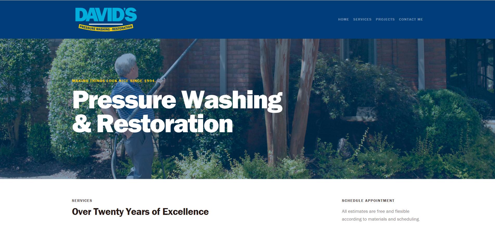 Davids-Power-Washing-and-Restoration_Website-Design_Dreamcapture_Memphis-TN