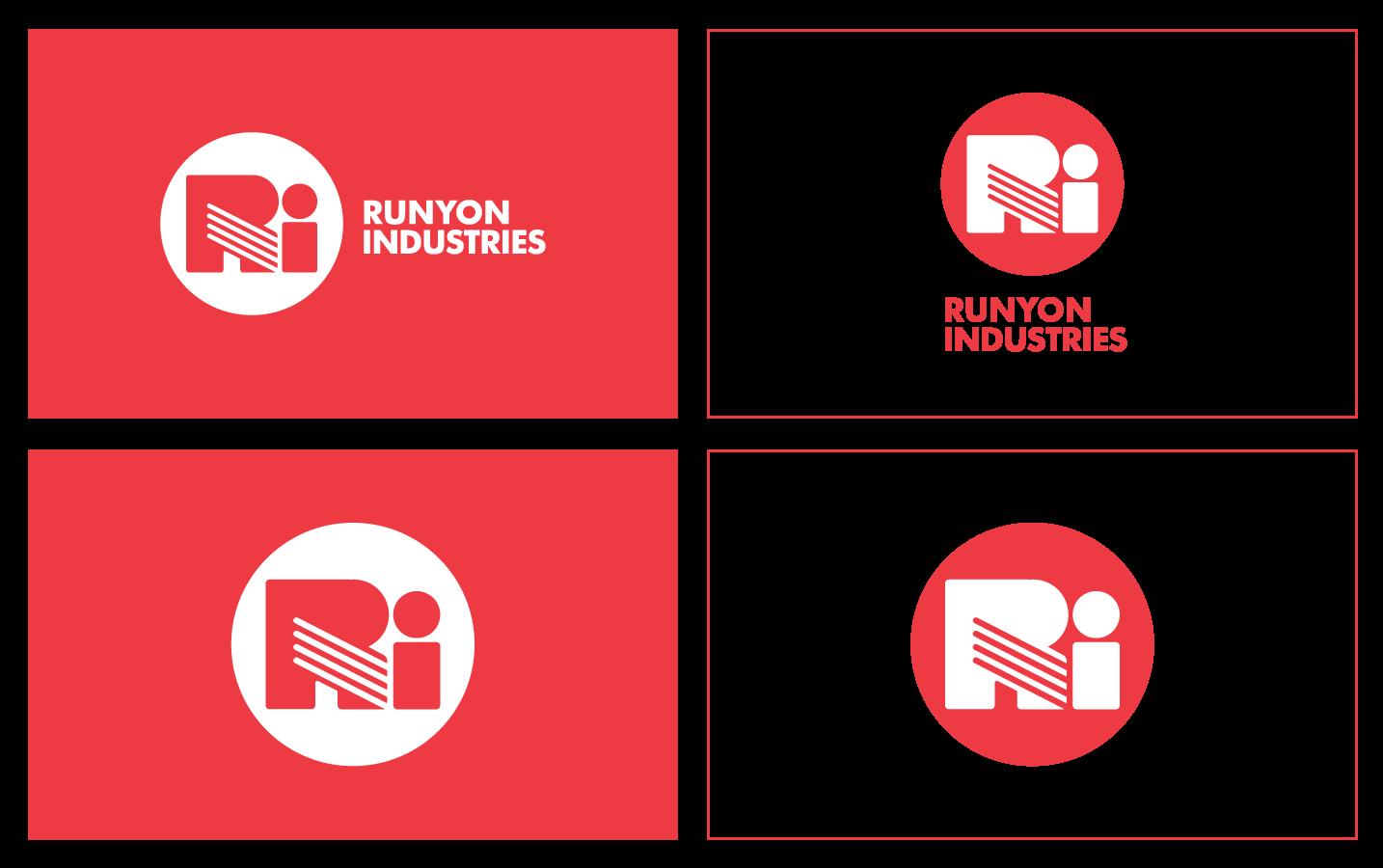 Runyon-Industries_Logo-Design_Logo-Lockup_Dreamcapture_Memphis-TN