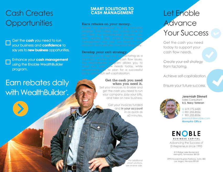 Enoble-Business-Capital_Trilfold-Brochure_Print-Design_Dreamcapture_Memphis-TN_2