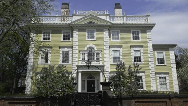 Shown: Brown Residence - Restoration Providence, Rhode Island