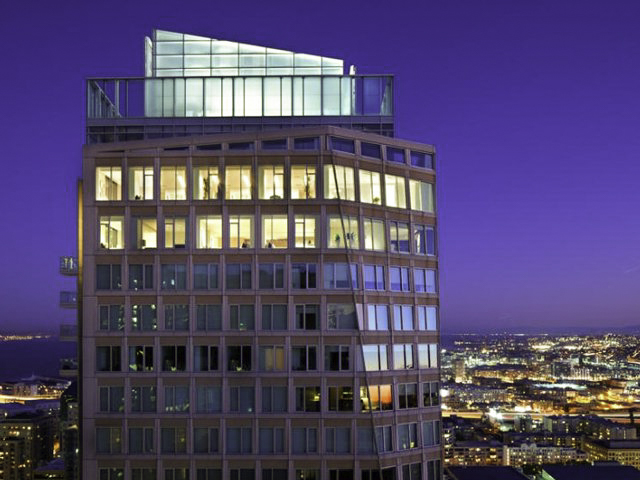 Shown: 22,000 sq ft Penthouse - Largest in U.S. St. Regis Hotel, San Francisco, California