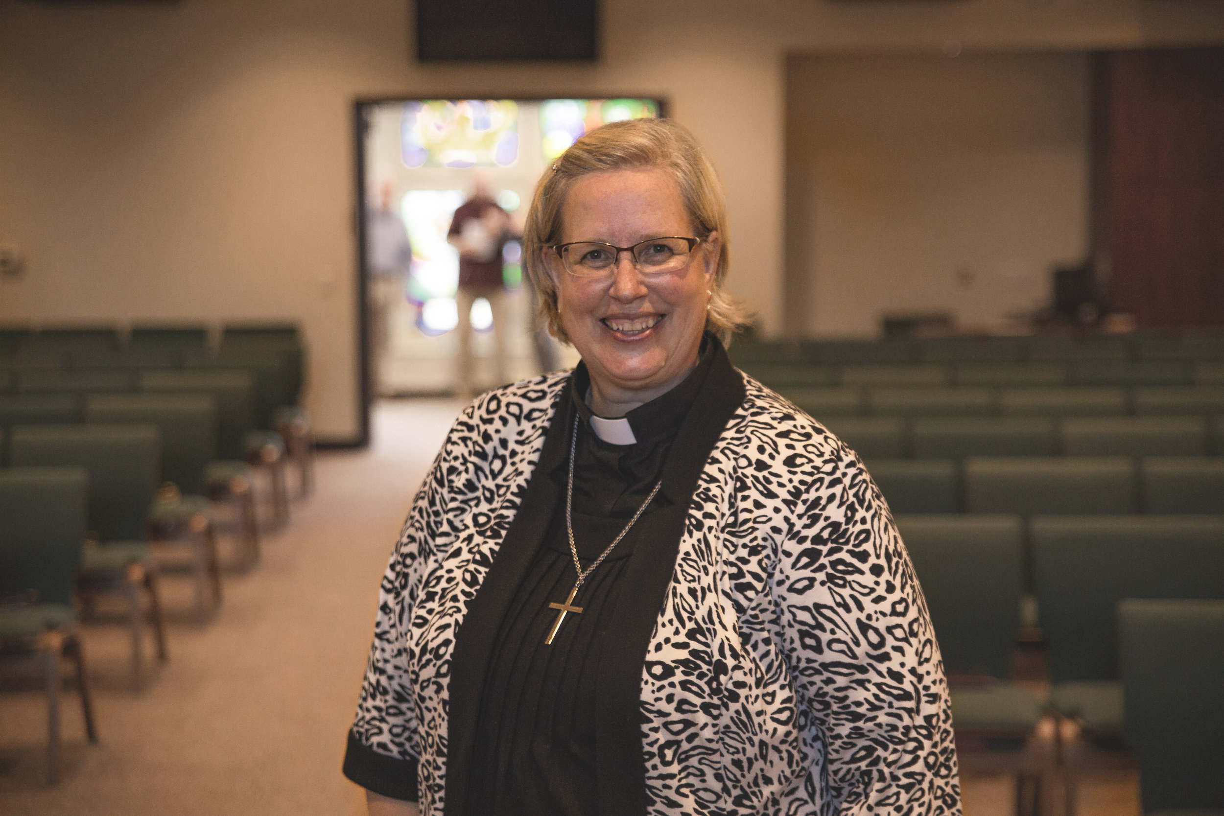 Pastor Elaine Gomulka  A life-loving, faith observing, passionate leader