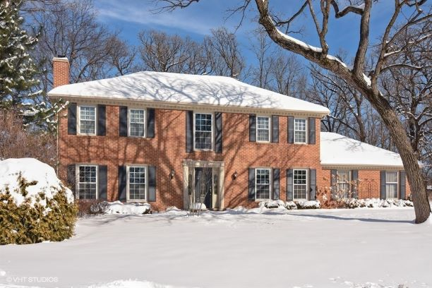 How does a classic brick colonial in the family friendly community of Lake Zurich sound to you? How about a beautiful private cul de sac lot full of ageless, stately oak trees a beautiful patio backing to a conservancy and a stunning view of of Echo Lake. How about being welcomed by a lovely paver walkway and front landing to beautifully renovated home with rich hardwood floors, custom trim and moldings, a true chef's kitchen, painted in pleasing and soothing neutral tones, tons of storage and a brand new tear off roof to be completed when weather allows - nearly 3,100 square feet of finished living space and three and a half baths on three levels. Well this lovely home is where you'll find all of this and more! Plus a great location close to schools, town, both Echo Lake and Lake Zurich, and convenient to all of Lake and McHenry counties and within reach of the city via Metra. A beautiful family home at a great price price - don't wait to see this one!