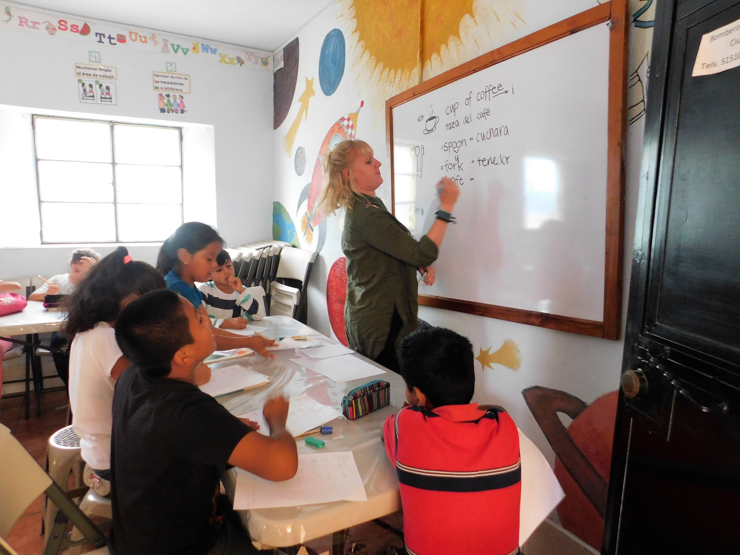Teaching - Cost: $250 donation in cash or materials for the learning centerHousing and Meals: $90/week if staying with a local family in San Miguel DueñasTransportation: $50 each way between Dueñas and the airport (optonal)
