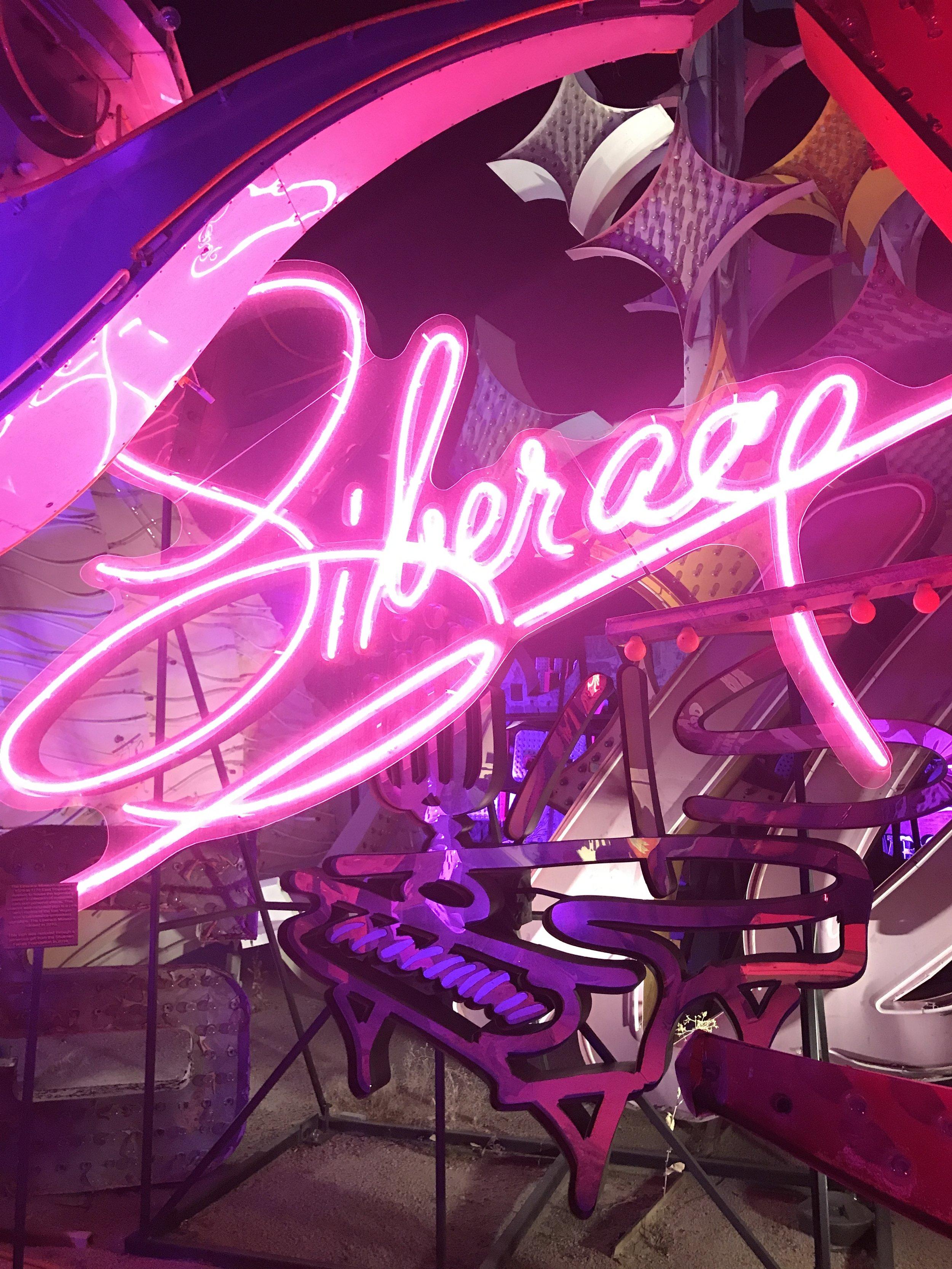 neon museum liberace las vegas ghost town