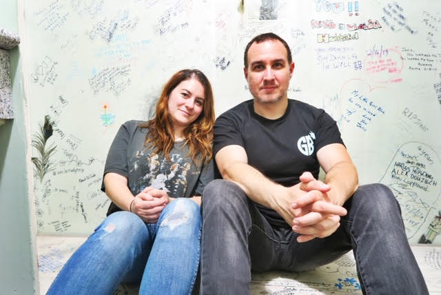 Jason & Rebecca of the Ghost Town Podcast