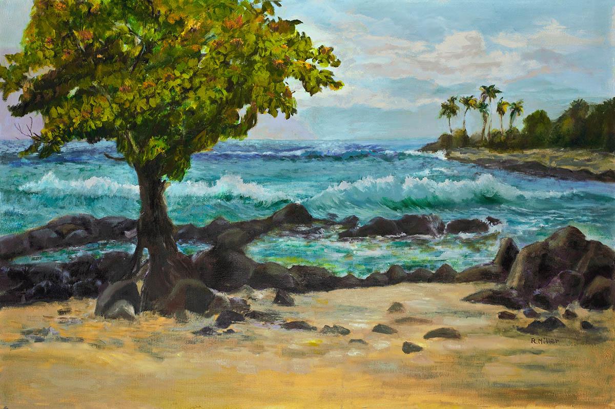 Beach with Heliotrope