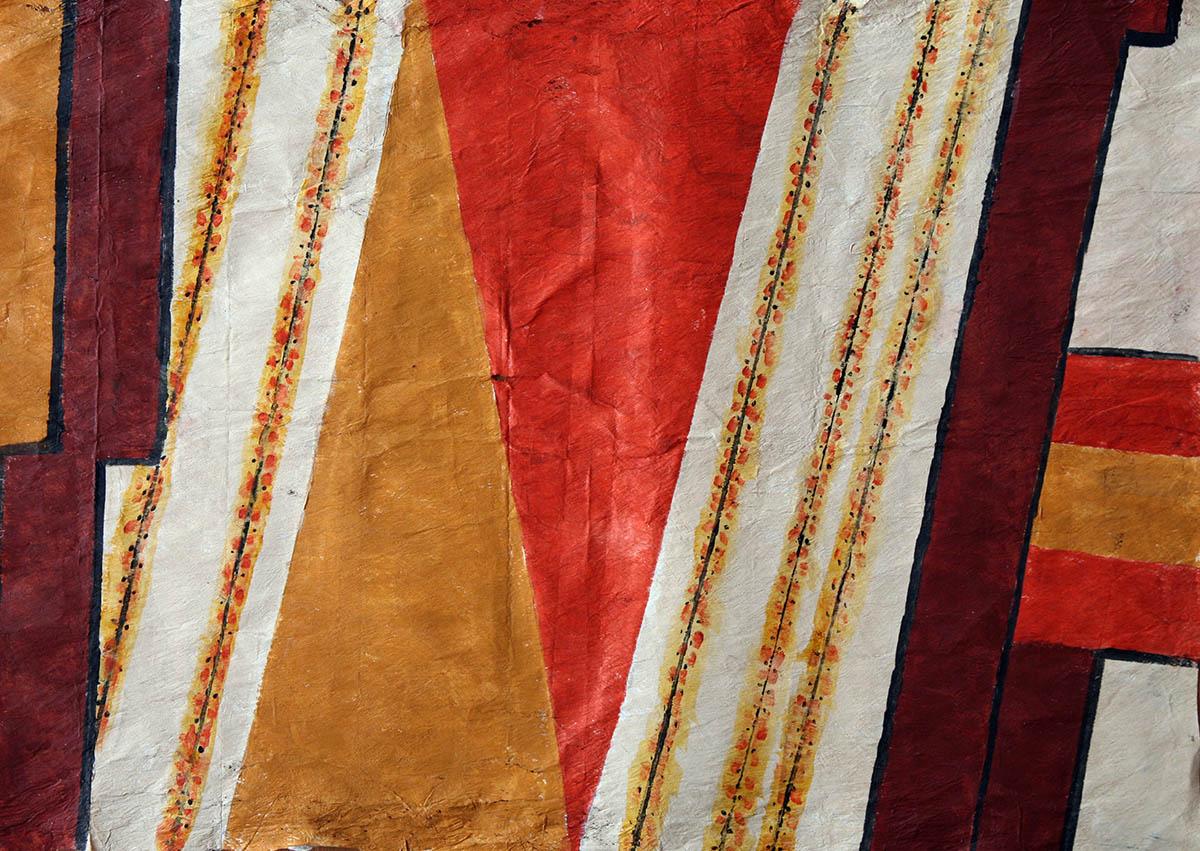 Uncanny Hawaiian designed Tapa Cloth