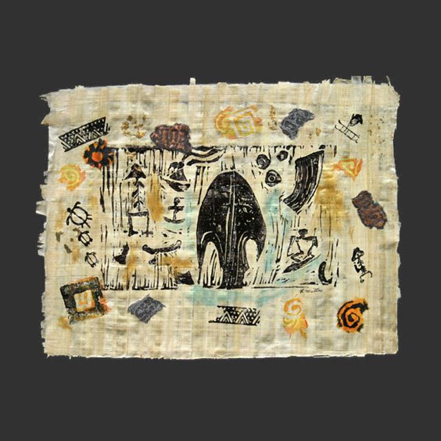 Sails Petroglyph Collage