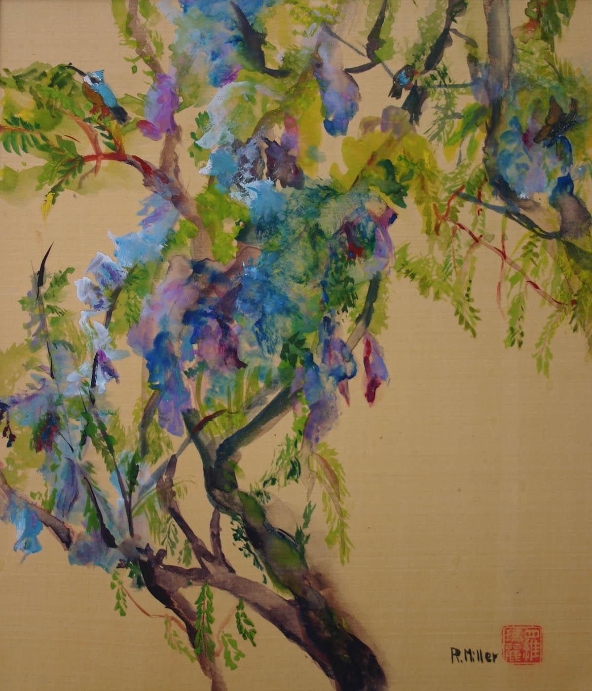 Jacaranda Tree in Spring