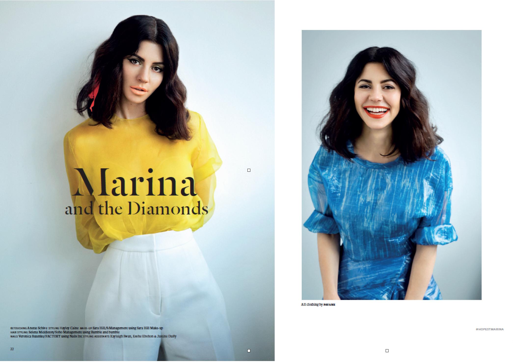 Marina Diamandis - Singer