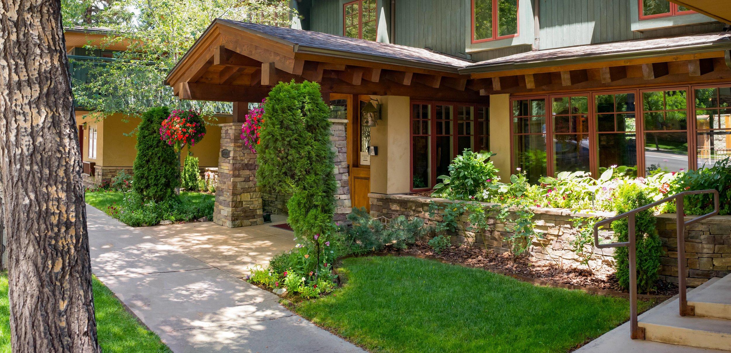 Aspen Hotel Landscape Architecture