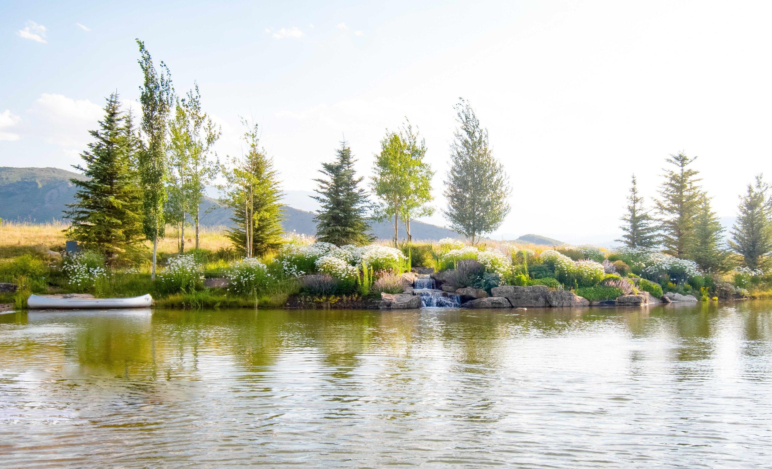 Aspen Ranch Waterscape
