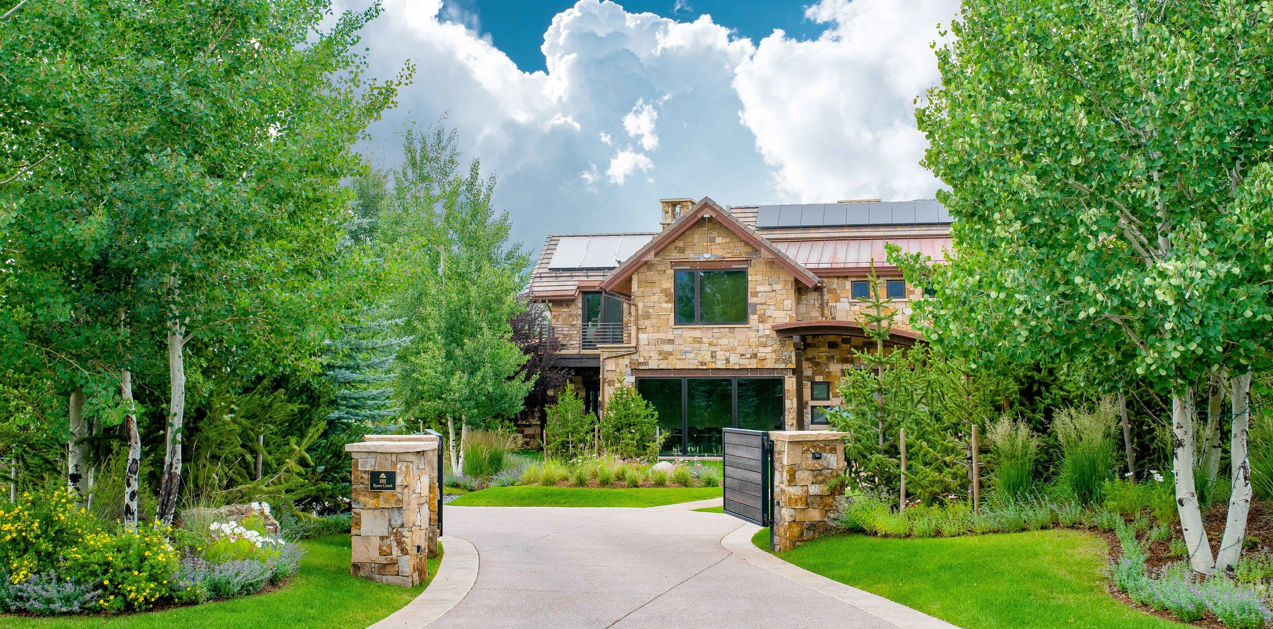 Aspen Luxury Residential Landcape