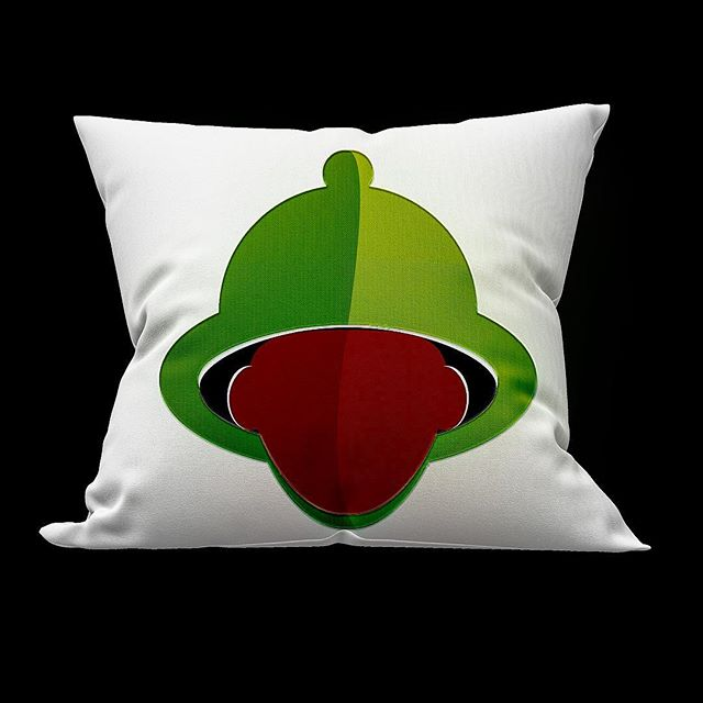 Who wants their #pillow in #green? #design #graphicdesign #madetoday #instagood #graphicdesigner #blackdesigner #art #love #color #green #black