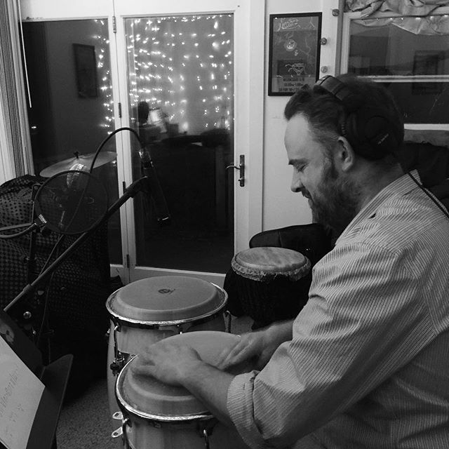 Uh-oh, what's Nic Cannizzaro up to?  Could he be making mischievous magic for our debut album?