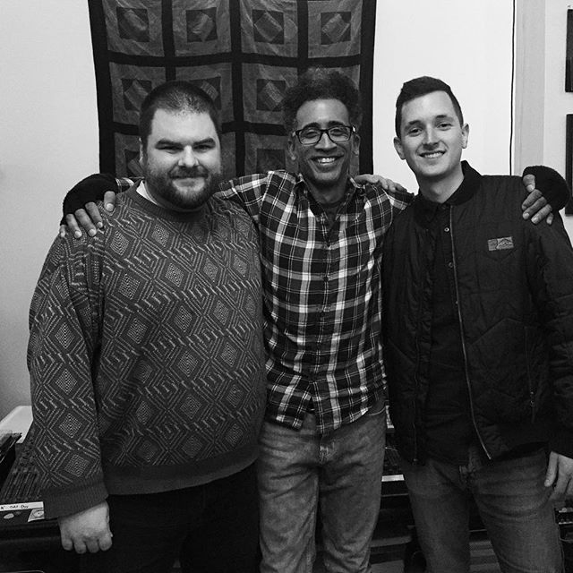 They say you should never meet your heroes.  We say you should make albums with them!  Alan Evans is not only one of our musical idols, he's also one of the kindest and hardest working musicians we've ever worked with.  It's been an honor and a privilege to have Al engineer, produce, and mix our debut album.  Coming to a sound system near you May 5th!