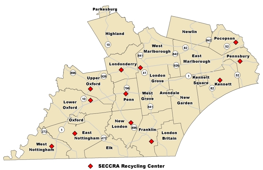 SECCRA service area - 105,000 people reside in the SECCRA service area and the number continues to grow. Our residents generate approximately one ton of waste per person per year.
