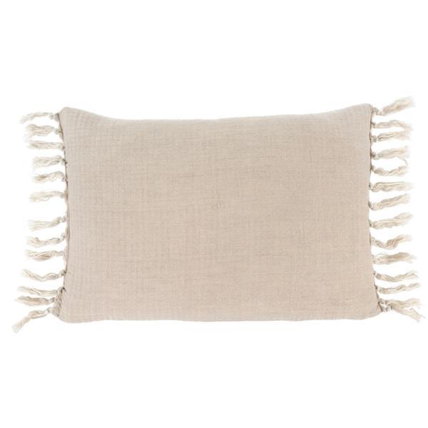 Linen Tassel Pillow