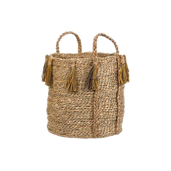 Sahara Tassel Basket