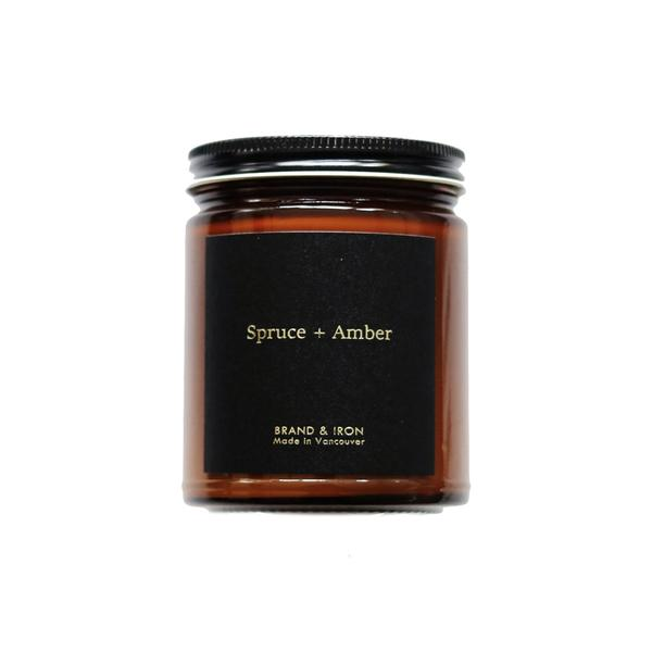Spruce + Amber Candle