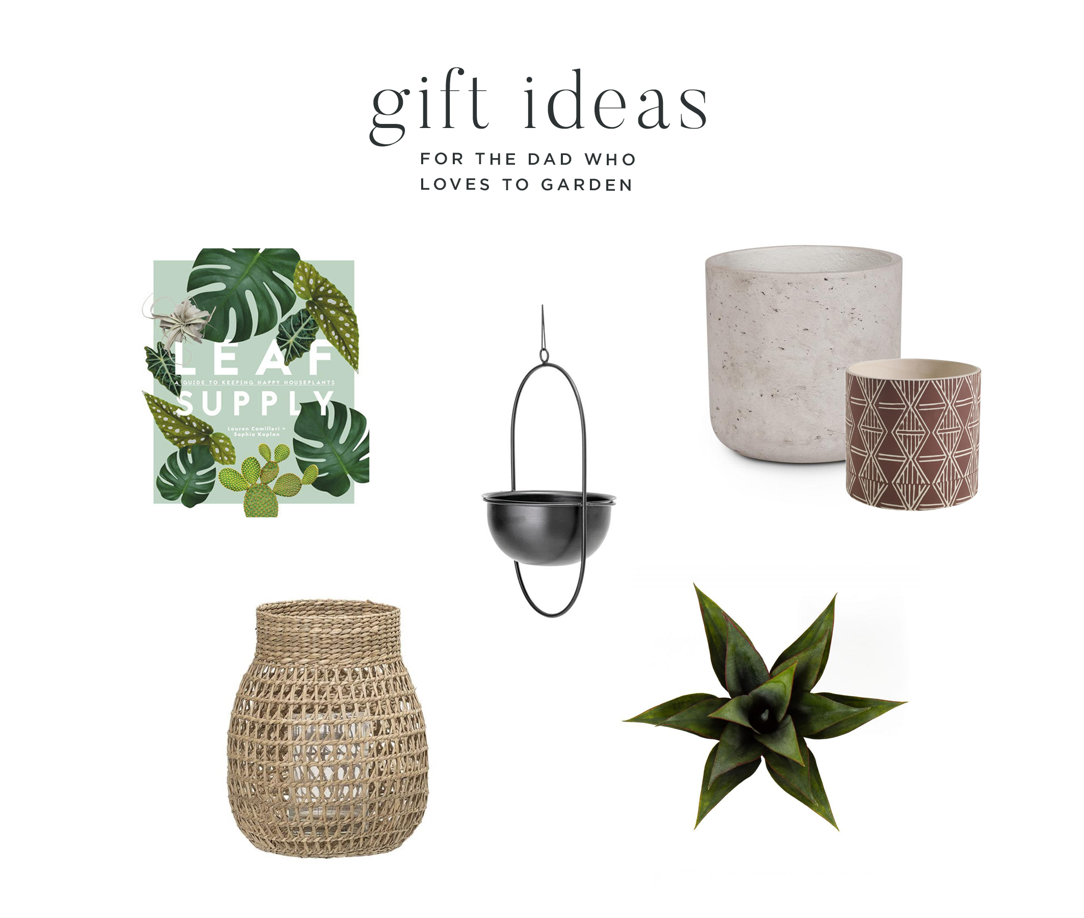 Father's Day Gift Guide by Leclair Decor with product from Ottawa based furniture store LD Shoppe