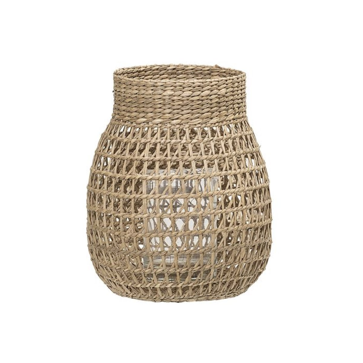 Natural Seagrass Lantern