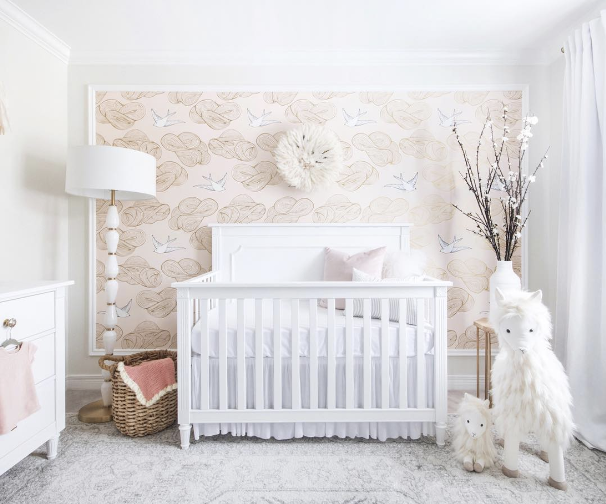 Creating a playful nursery that is designed to last by Leclair Decor, Ottawa based interior design firm.