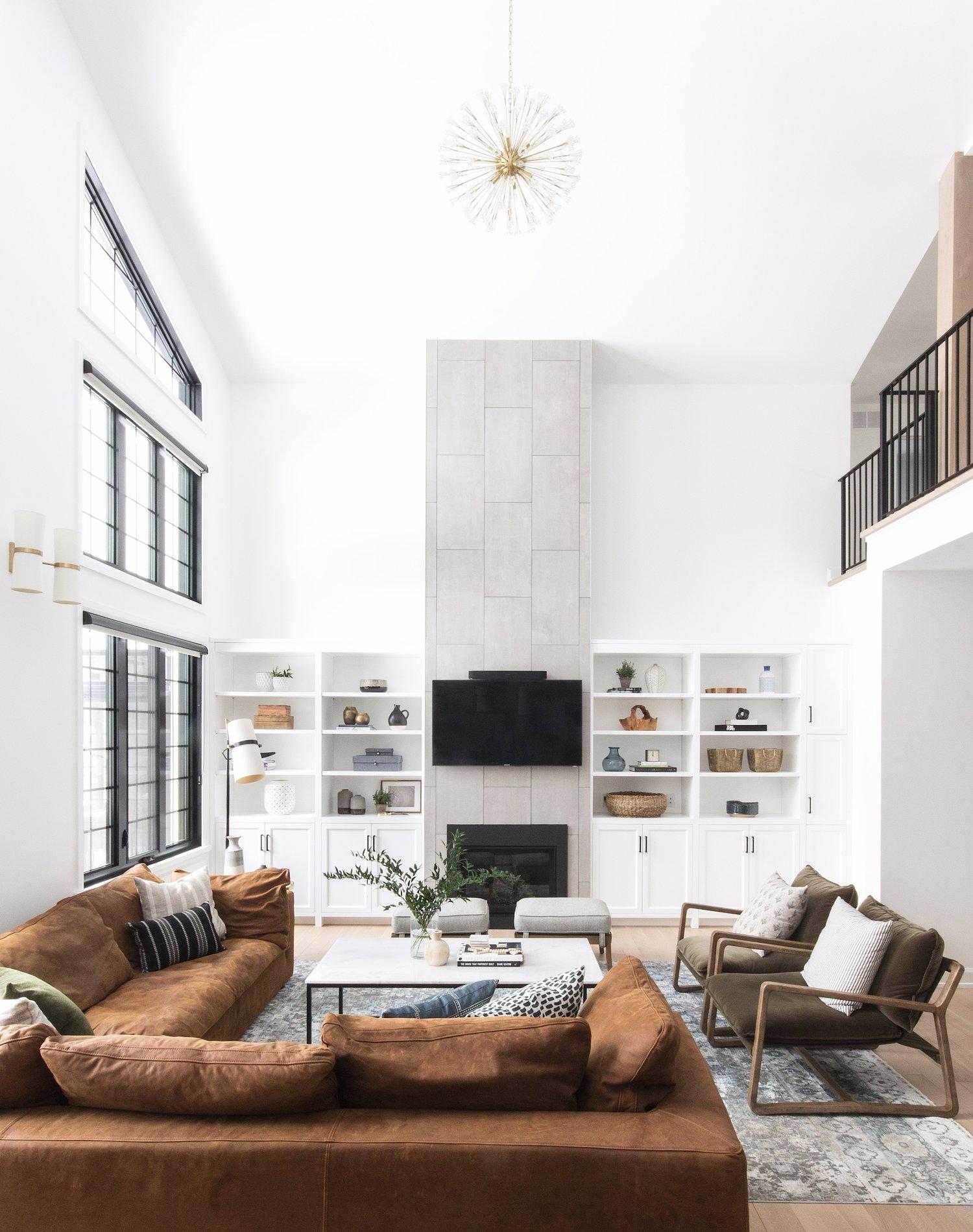 Inviting modern home design by Ottawa Interior Design Firm Leclair Decor