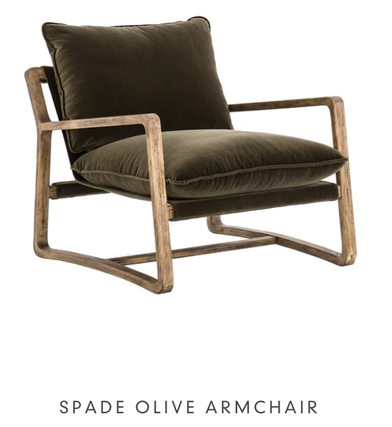 Spade Olive Armchair from LD Shoppe Ottawa furniture store