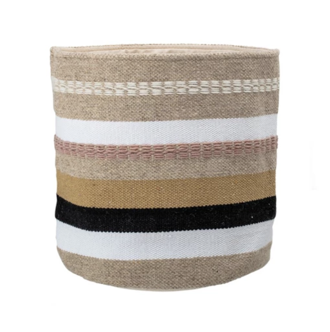 Chelsea basket from Ottawa furniture store LD Shoppe by Leclair Decor