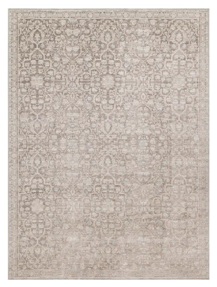 Ella Rose Pewter/Pewter rug