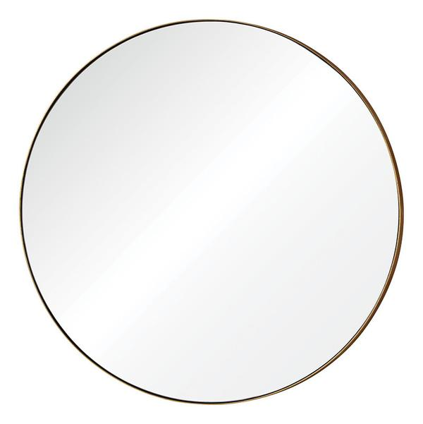 Oryx Mirror with brass frame from Ottawa furniture store LD Shoppe