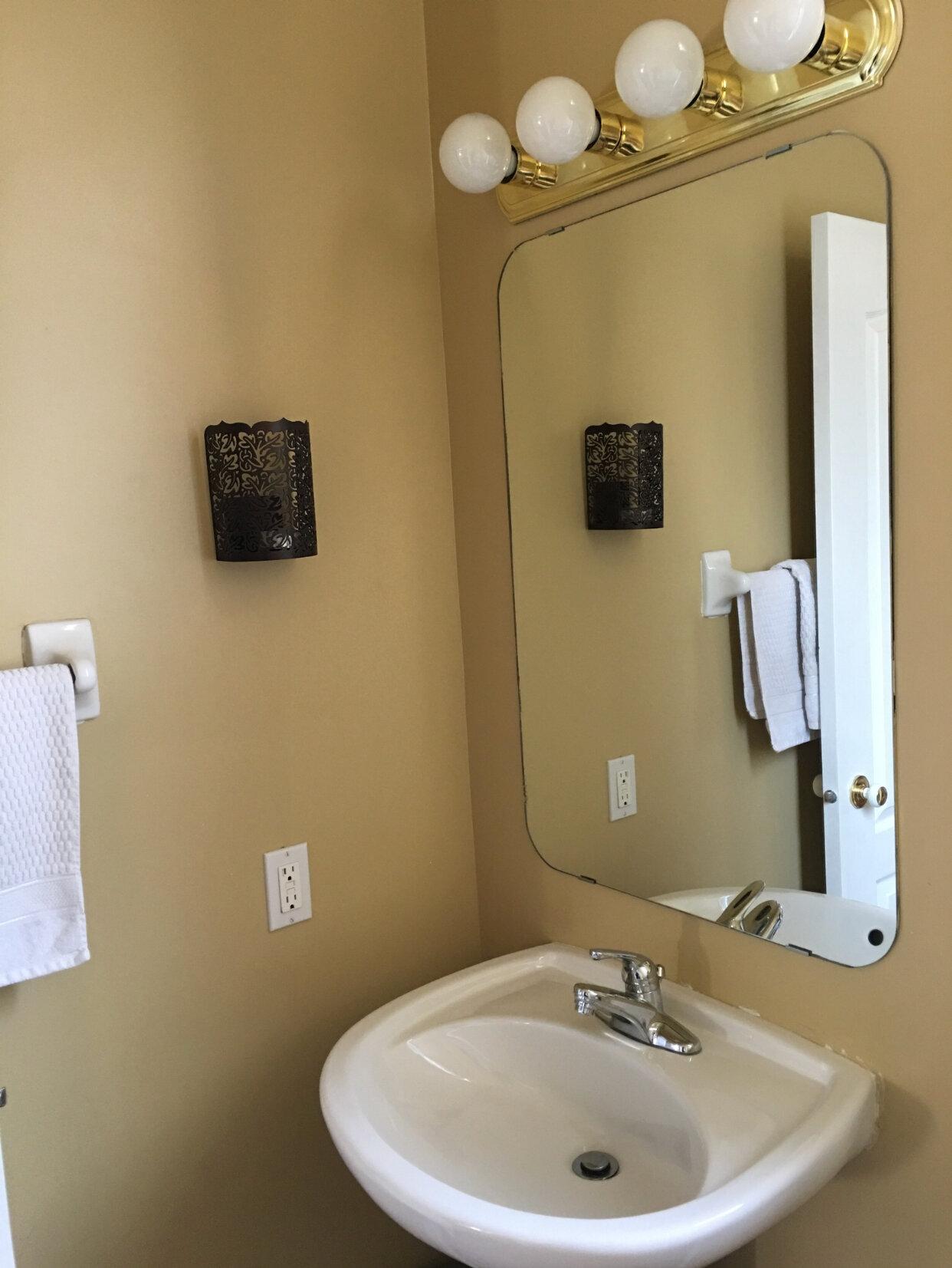 Leclair Decor Powder Room Reveal Orleans Ottawa Interior Design Firm