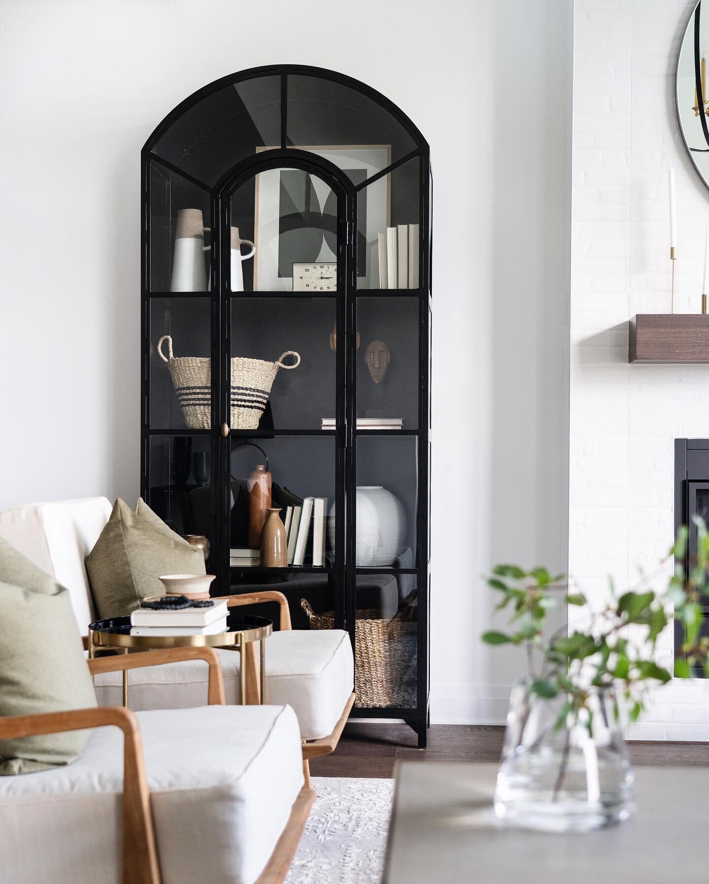 Shop the living room |   Lily Cabinet  ,   Bago Armchair  ,   Sai Basket