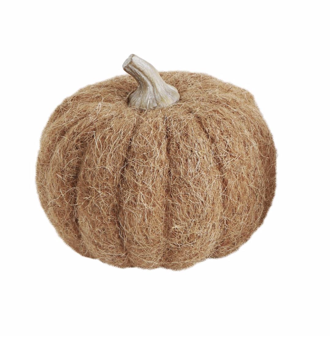 Wool Pumpkin - Burnt Orange