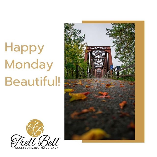 Hello Beautiful!  Sometimes it's best to choose the road less traveled.  Keep shining ☀️ #_trellbell  # Retailshop #clutches #accessorzingmadeasy #blackgirlmagic #smallbusiness #jewelry #earrings