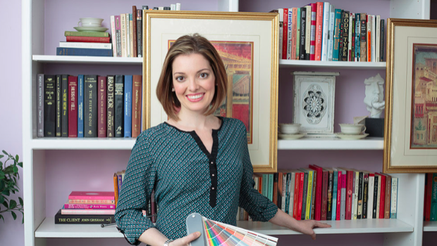 Betsy Helmuth, author of BIG DESIGN, SMALL BUDGET (2014) and INTERIOR DESIGN, HIGH-END TIPS FOR ANY BUDGET (2019).