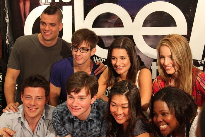 Bottom left - Cory Monteith