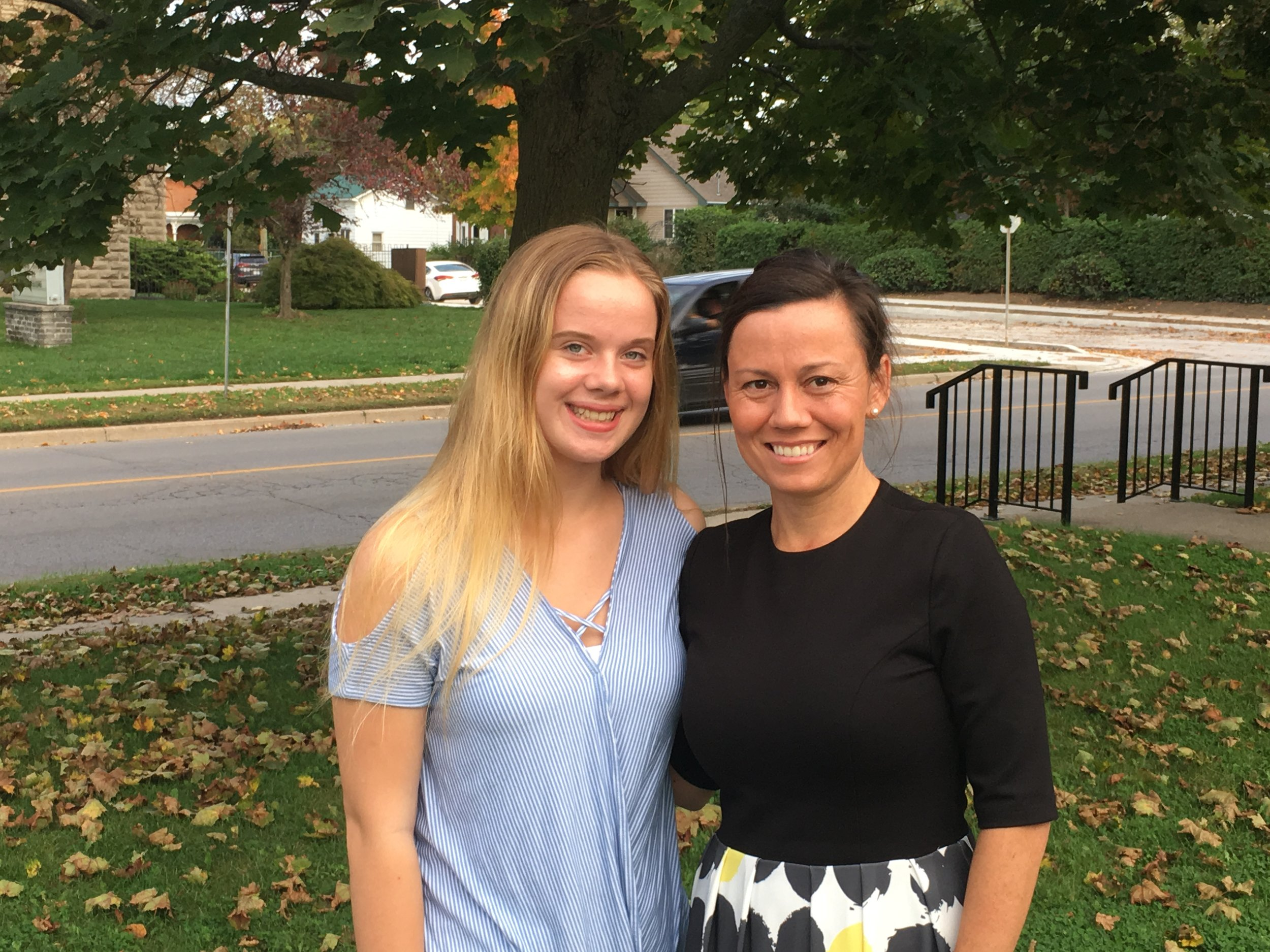 Our young journalist Jenn Klassen recently spoke with Kristal Chopp, one of the candidates for Mayor of Norfolk County.