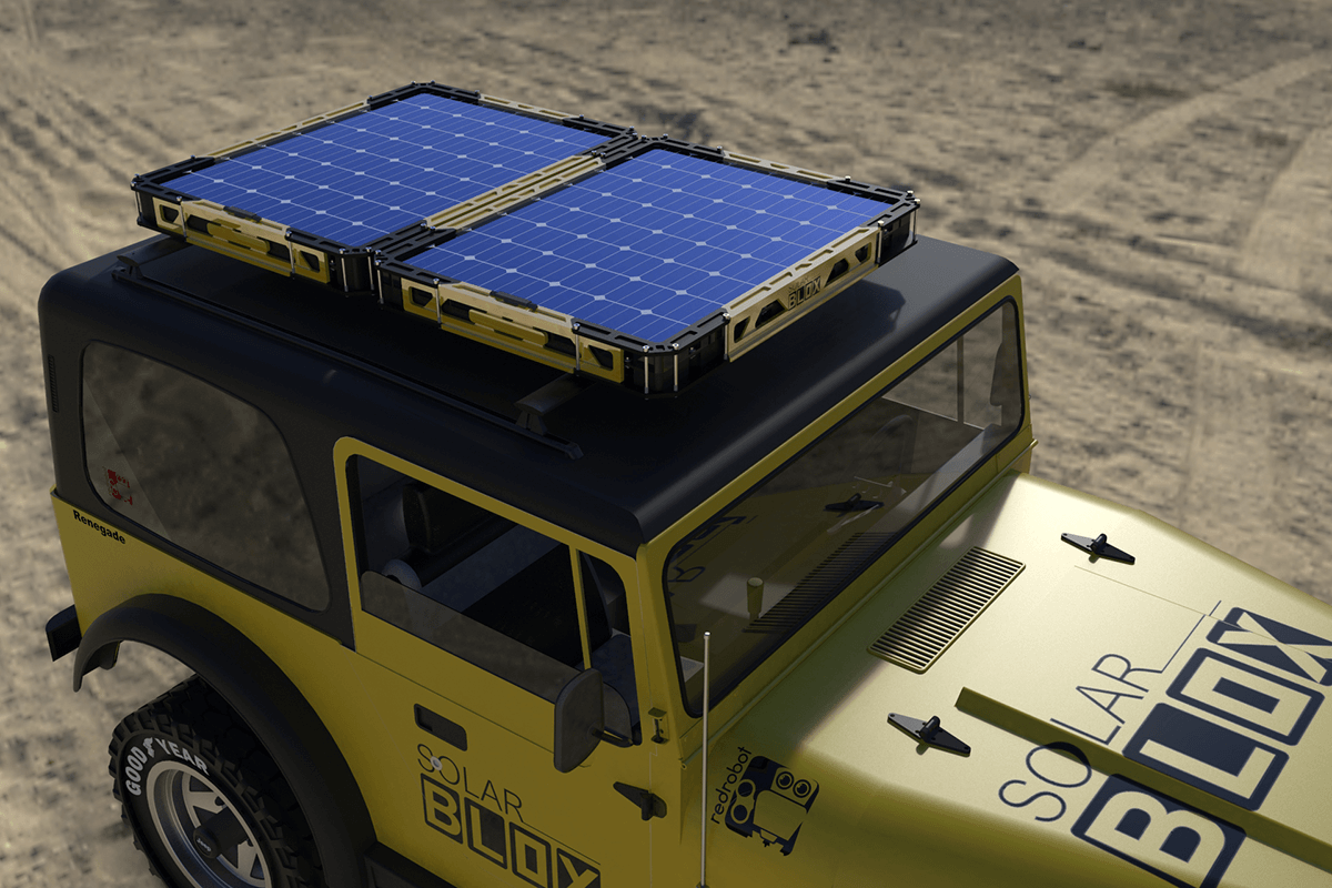 More Blox. More Power. - An entire Solar micro-grid in a single product. Works day or night.Solar Blox is designed to scale up or down to suit your needs. Whether you need to power light or an entire mobile surgery, Solar Blox can connect together to increase power output as needed.