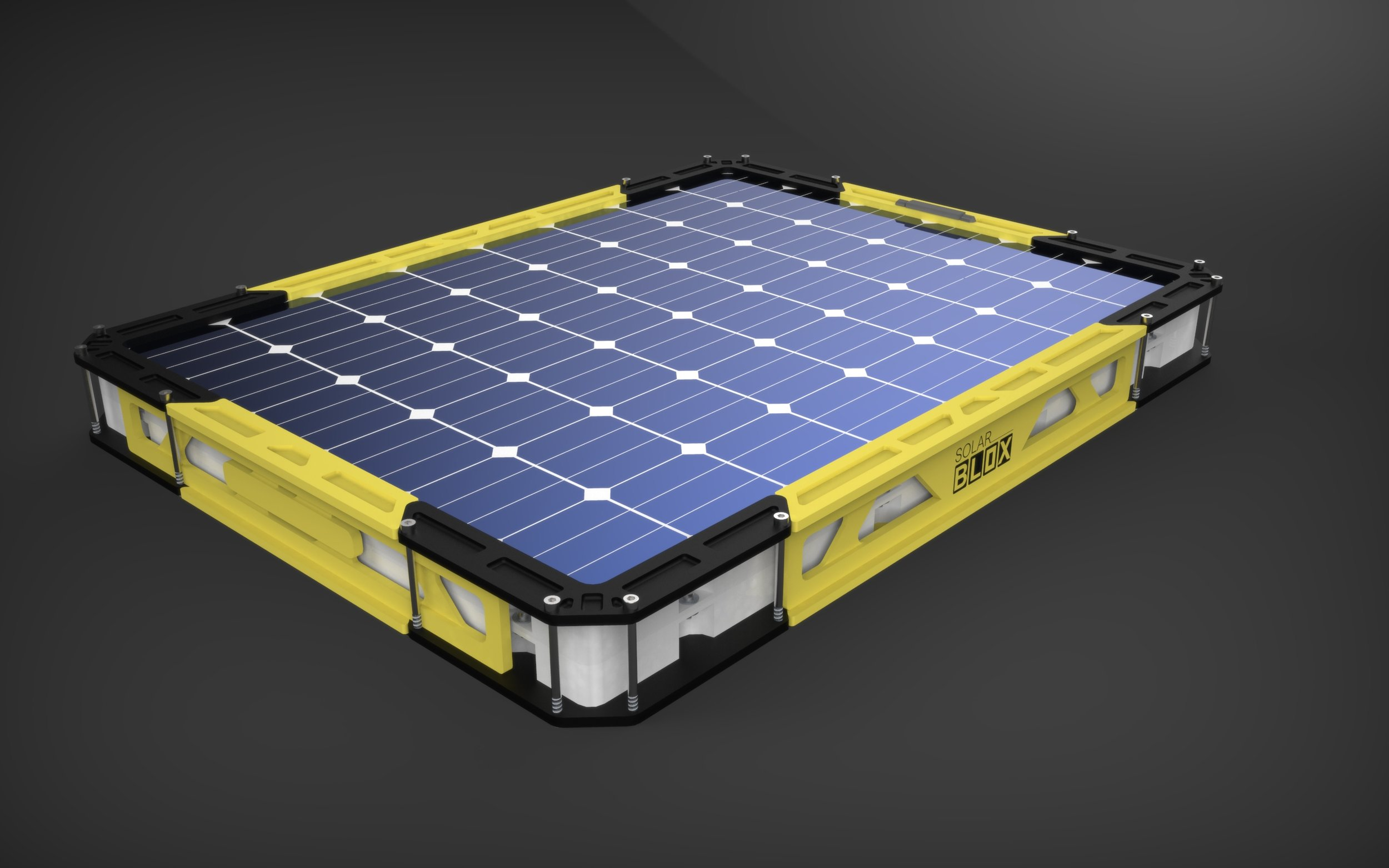 More blox more power - An entire Solar Generation micro-grid in a single product. Works day or night.