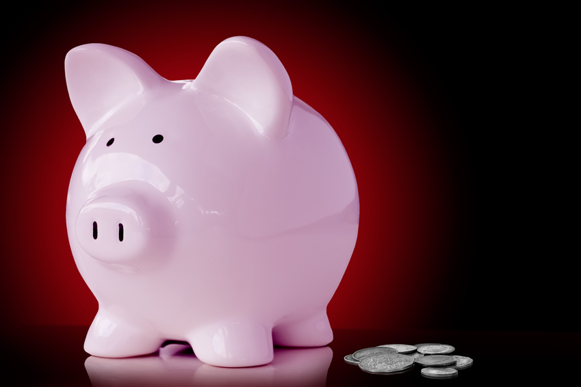 """Just say """"no"""" to piggy bank pictures."""